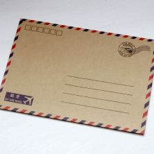 Vintage-Style-Airmail-Envelopes-x-10-Wedding-Craft-Paris-Favours-[2]-730-p